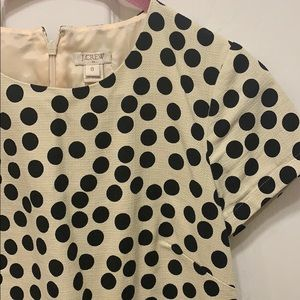 J. Crew Dresses - Classic polka dots dress by JCrew